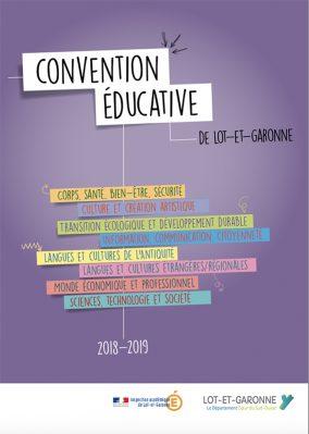 convention éducative 2018/2019