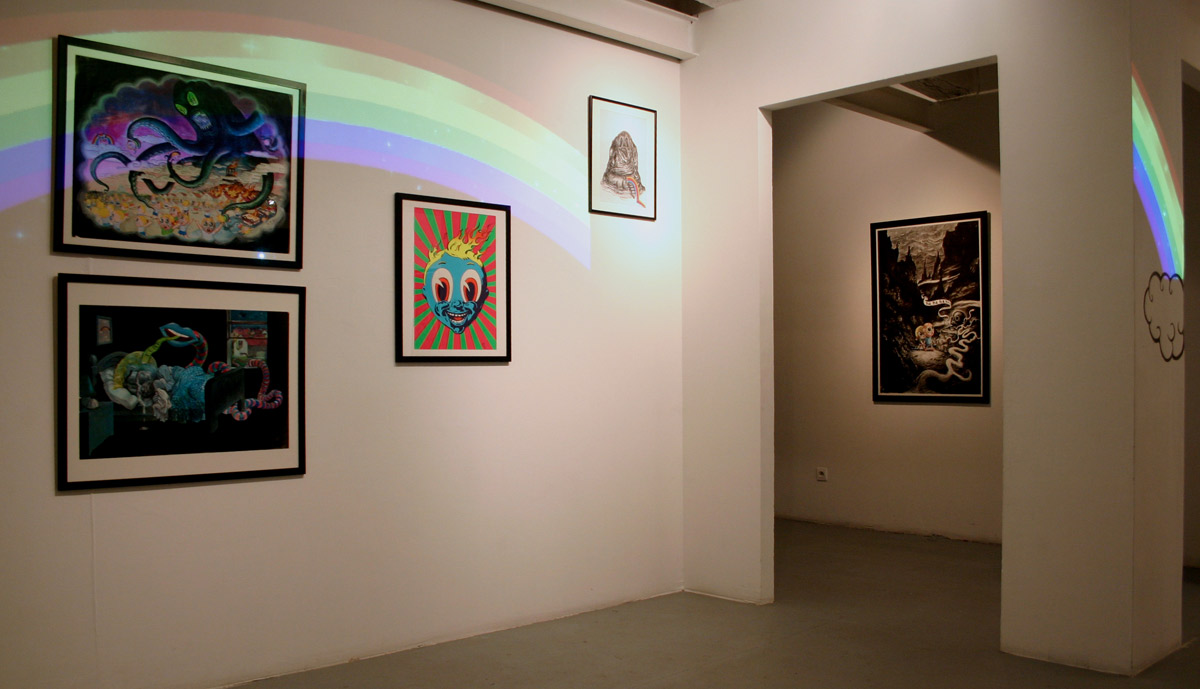 Winshluss, artiste accueilli en résidence en 2012, Pollen