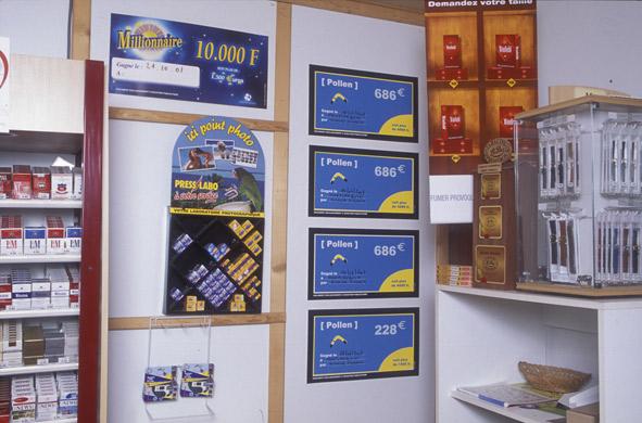 Exposition Nicolas Simarik, artiste accueilli en résidence à Pollen en 2003