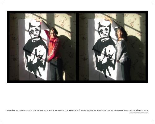 Raphaële De Gorostarzu, exposition à Pollen, 2007