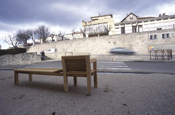 Emeric Hauchard, exposition à Pollen, 2006