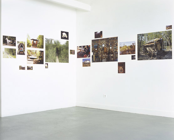 Suzanne Husky, exposition à Pollen, 2009