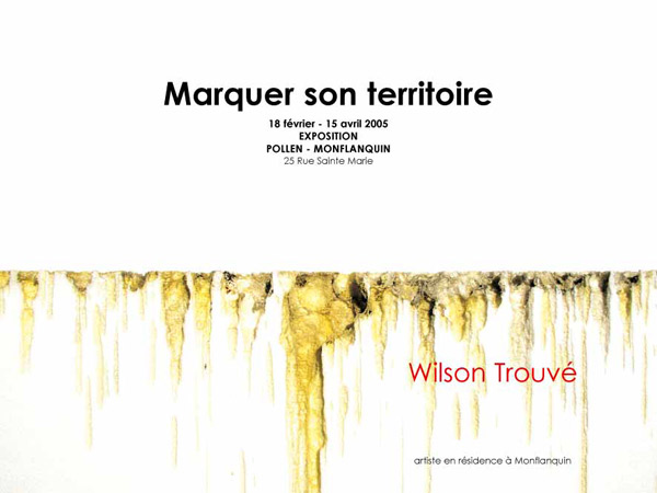 Wilson Trouvé, artiste en résidence, 2005