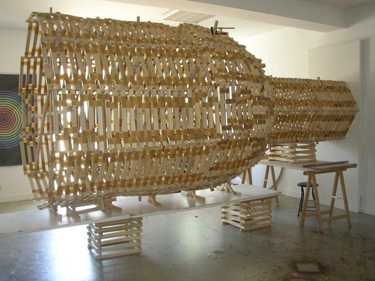 Aeneas Wilder, exposition à Pollen, 2005
