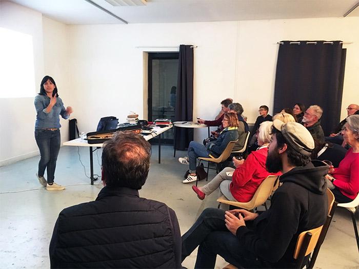 Rencontre avec Fernanda Sanchez Paredes accueillie en résidence en 2019