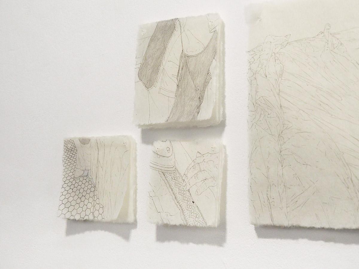 Louise Collet, artiste en résidence, 2019, Pollen