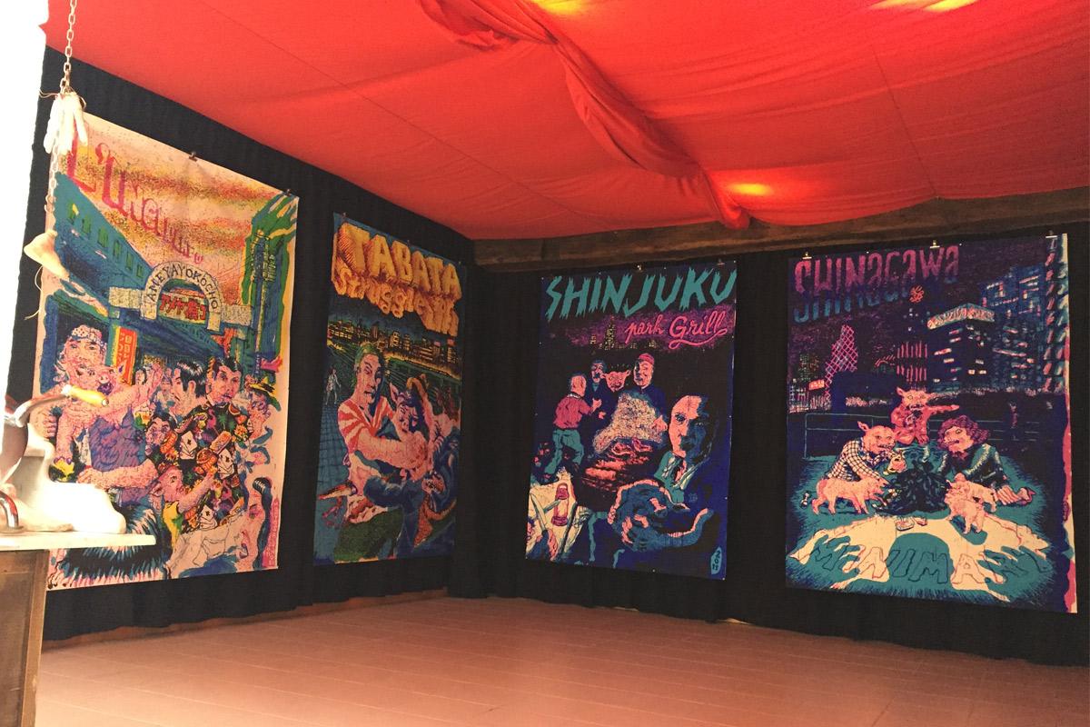 Exposition Meroll Avenue Les requins marteaux 2015
