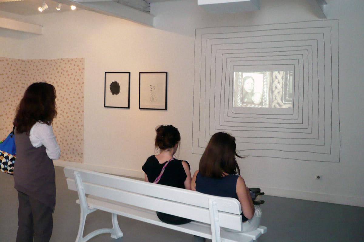 Charlotte Puertas, exposition à Pollen 2010