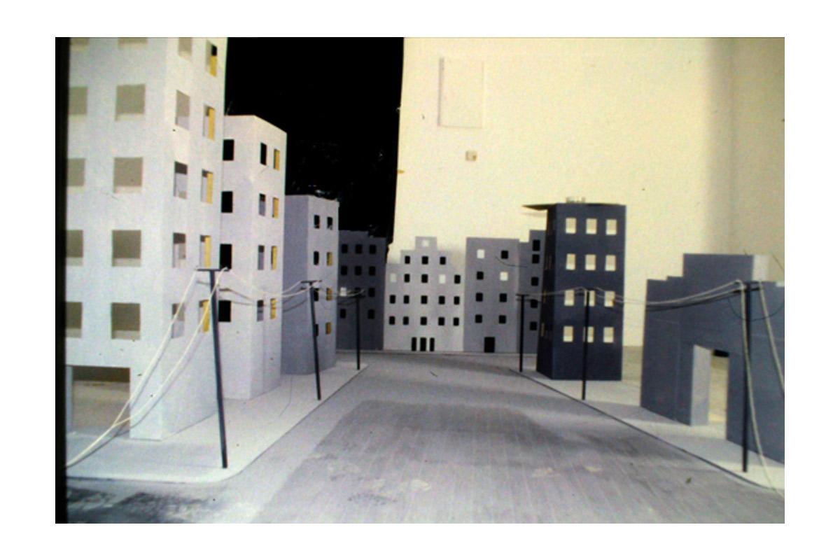 Sébastian Gordin, artiste en résidence 1995, Pollen Monflanquin