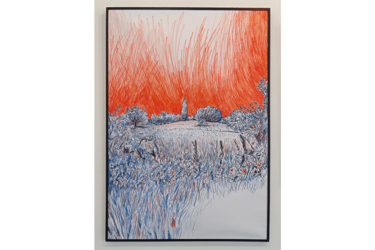 De l'air !, Exposition de Laurent Lolmède, artiste accueilli en résidence été 2020
